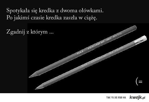 Ołówek bez gumki