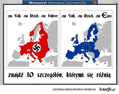 ein volk ein reich ein führer, ein volk ein reich ein euro