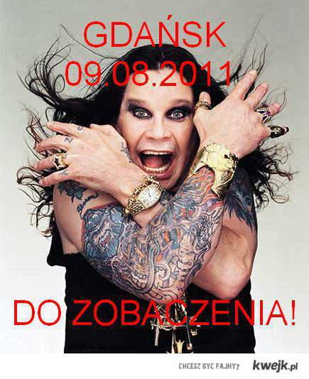 ozzy osoburne in poland