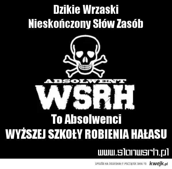 Absolwent WSRH