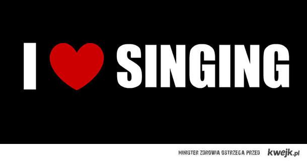 I ♥ singing