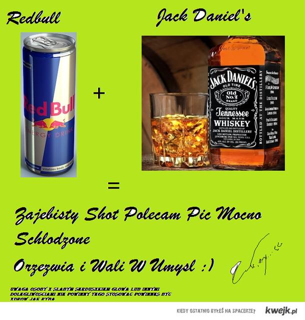 Shot Redbull + Jacks