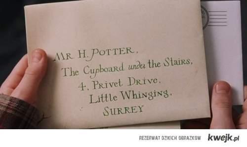 letter from hogwart