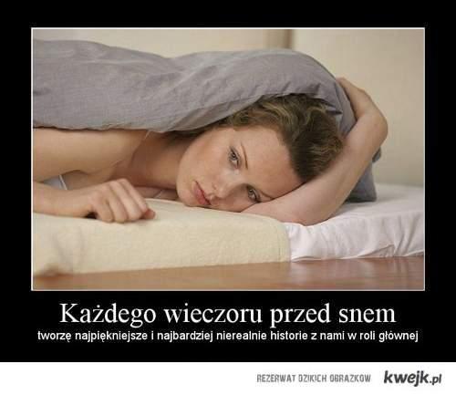 przed snem