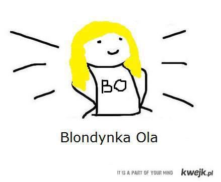Blondynka Ola