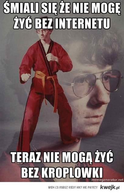 Internet Karate nerd