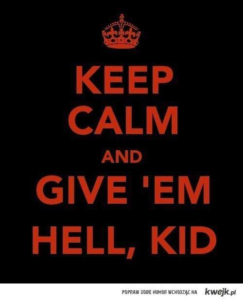 mcr keep calm