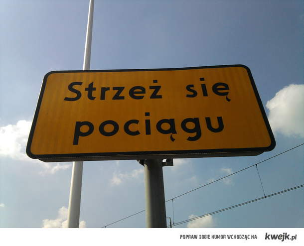pociag :)