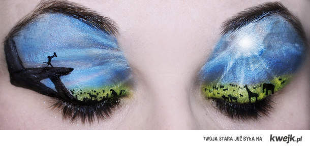 Lion King Make-Up