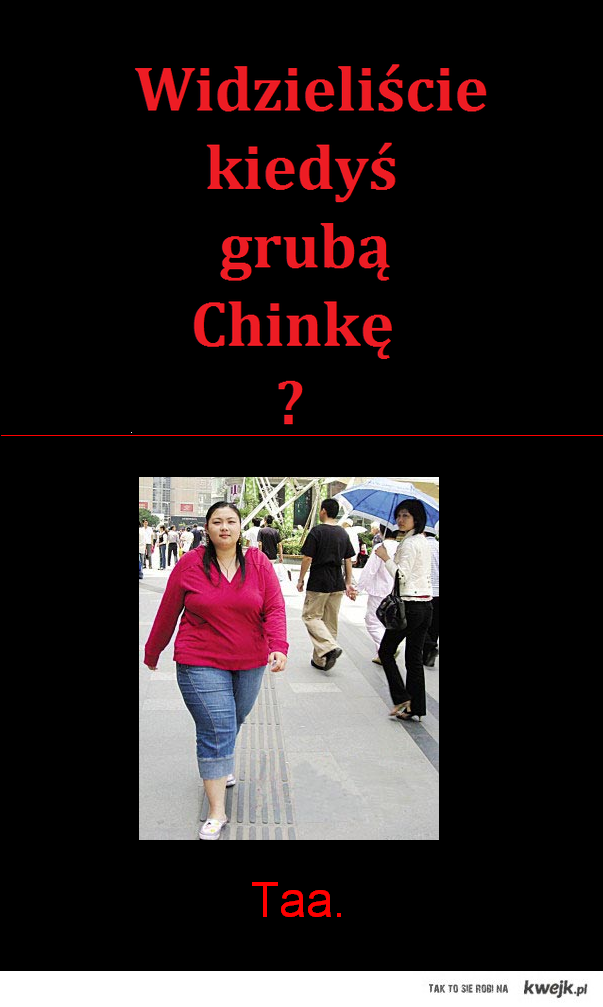 tlusta chinka