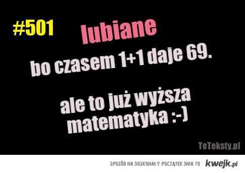 Wyższa matematyka :)