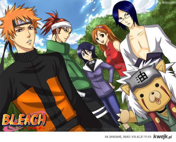 Bleach Naruto. :3
