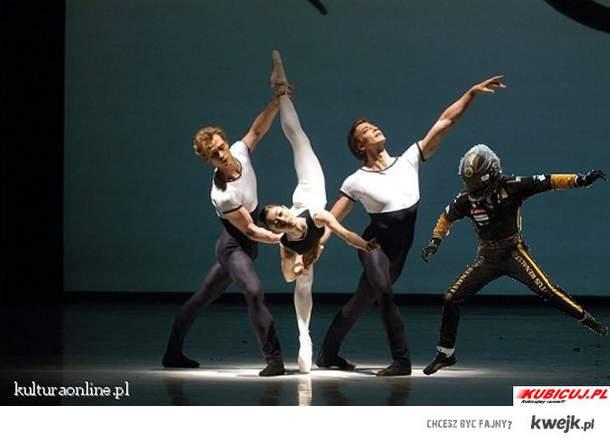 Heidfeld w Balecie