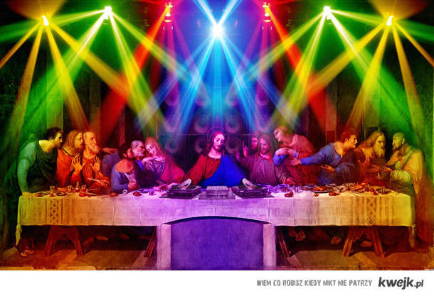 Jesus party!