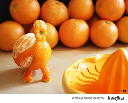 pomarańczka.