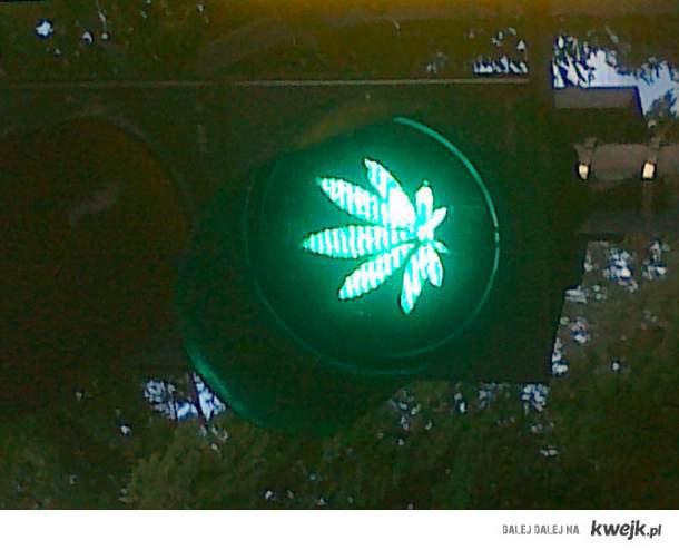 Zielone, jedziemy po Maryche. :PP