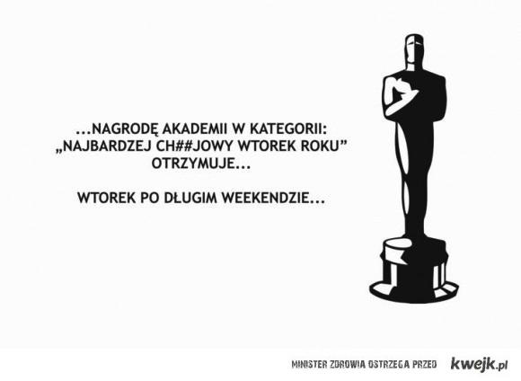 Nagroda za najgorszy wtorek