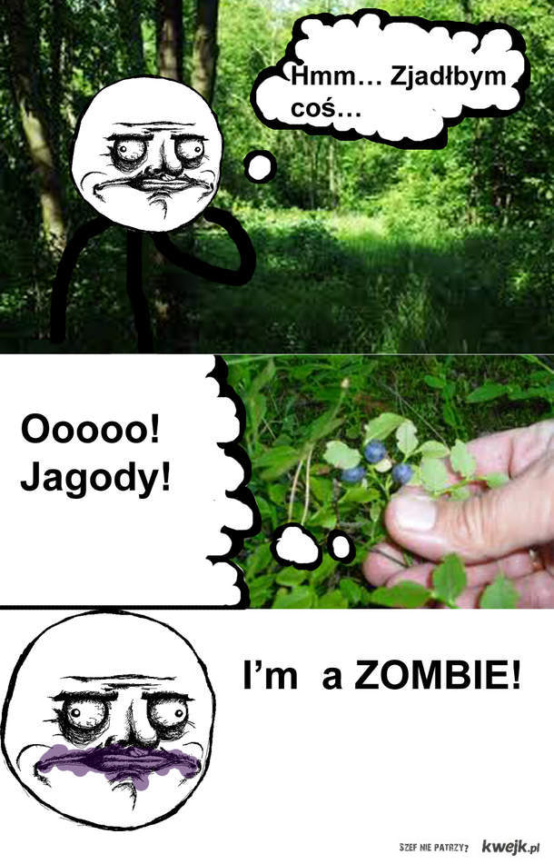 Me gusta zombie