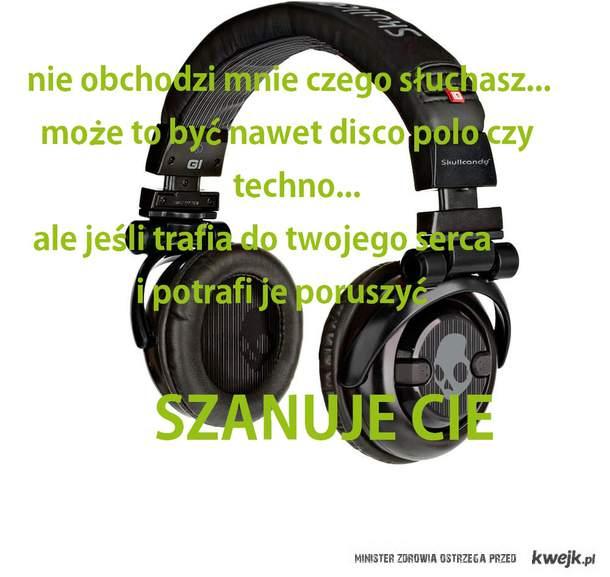 szacunek do muzyki