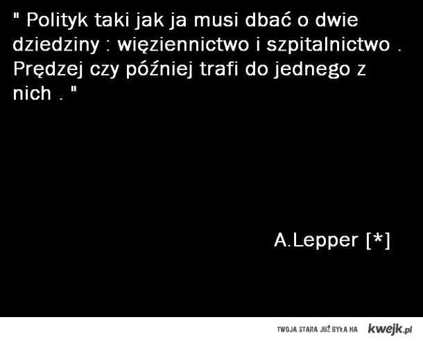 A.Lepper - Cytat