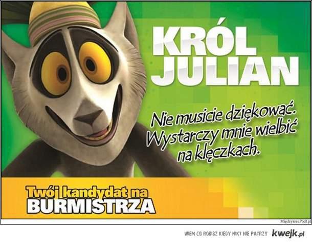 VOTE FOR JULIAN