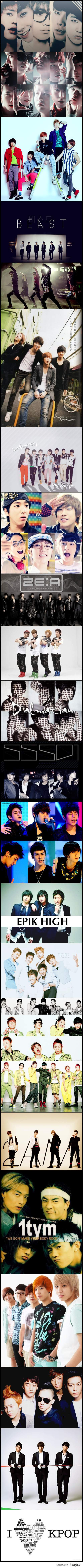K-pop boys group