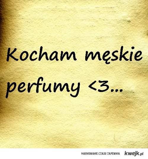 meskie perfumy