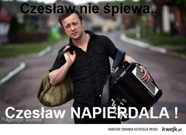Cesław nie śpiewa