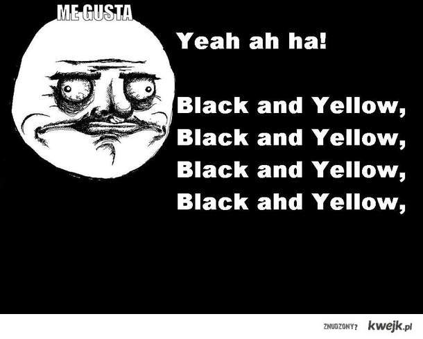 Back and Yellow me GUSTA