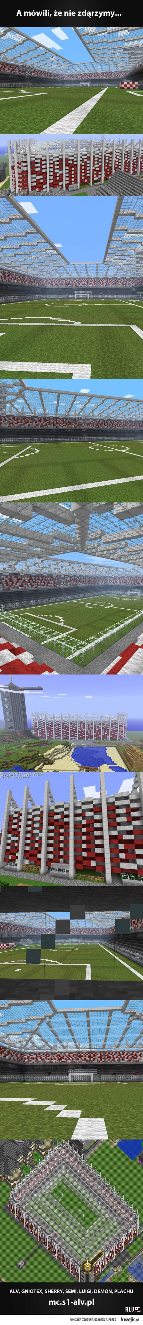 Minecraft - Stadion Narodowy