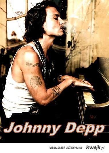 Johnny Depp ;D
