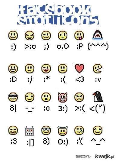 fb emoticons ;)