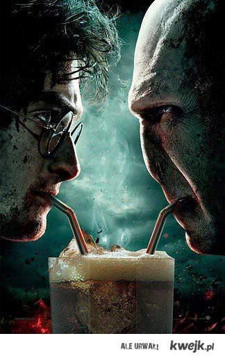 Harry & Voldemort.