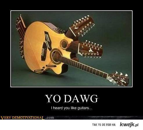Heard you like guitars