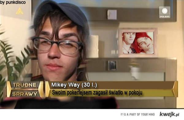 Mikey Way - kolejna trudna sprawa
