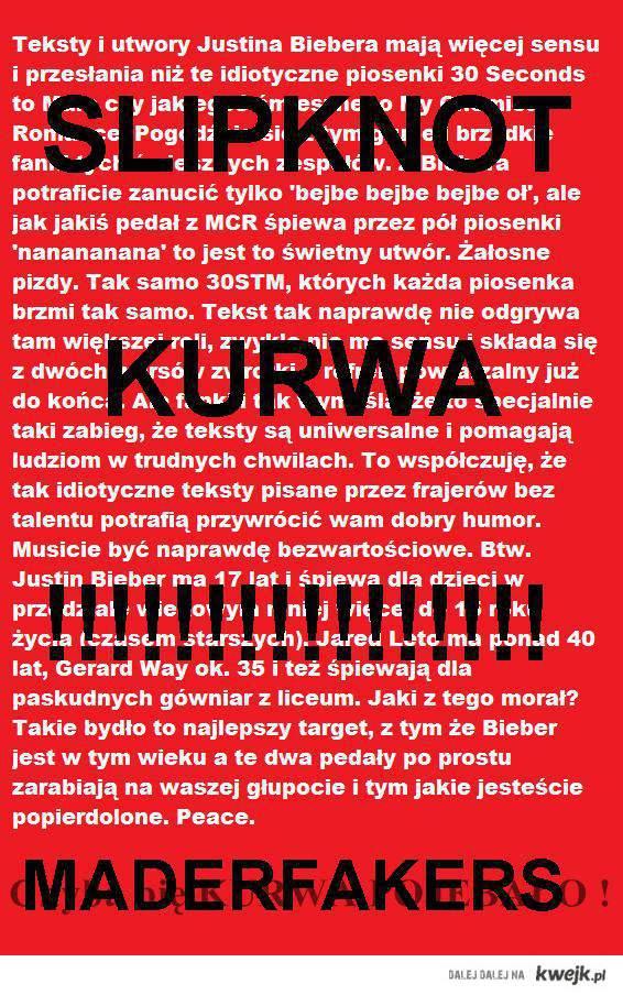 SLIPKNOT KURWA