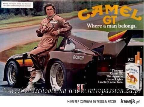 Camel GT, retro reklama