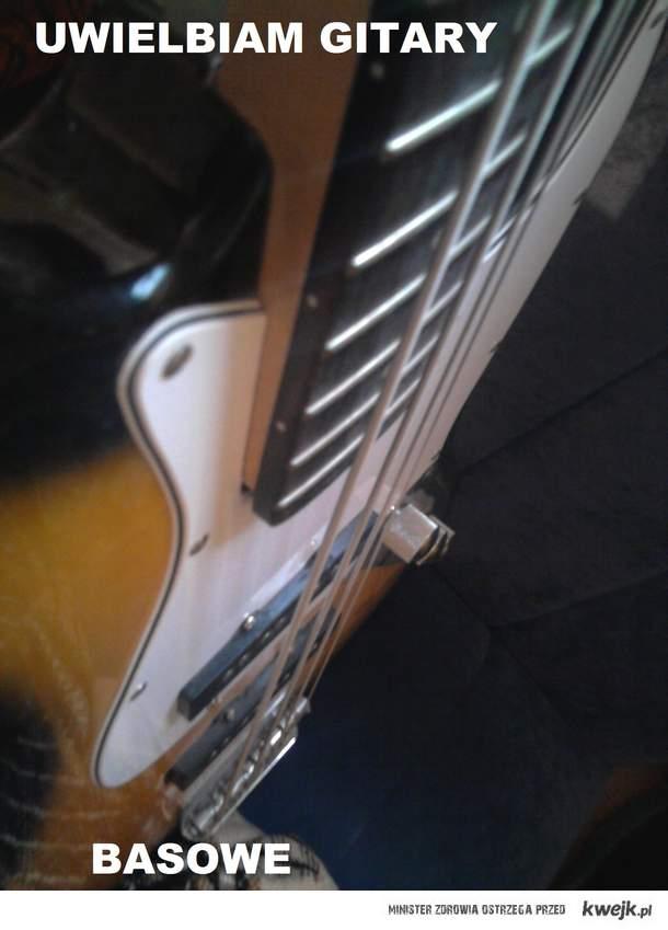 Uwielbiam Gitary basowe