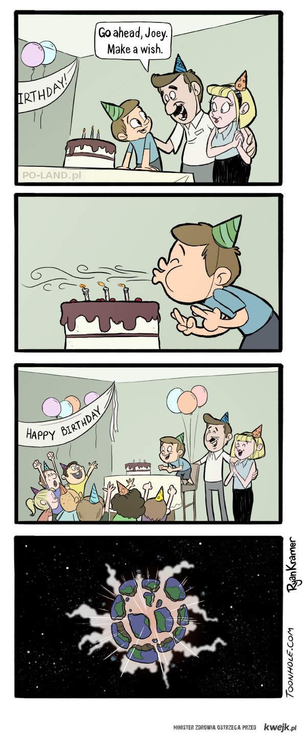 Zyczenie urodzinowe