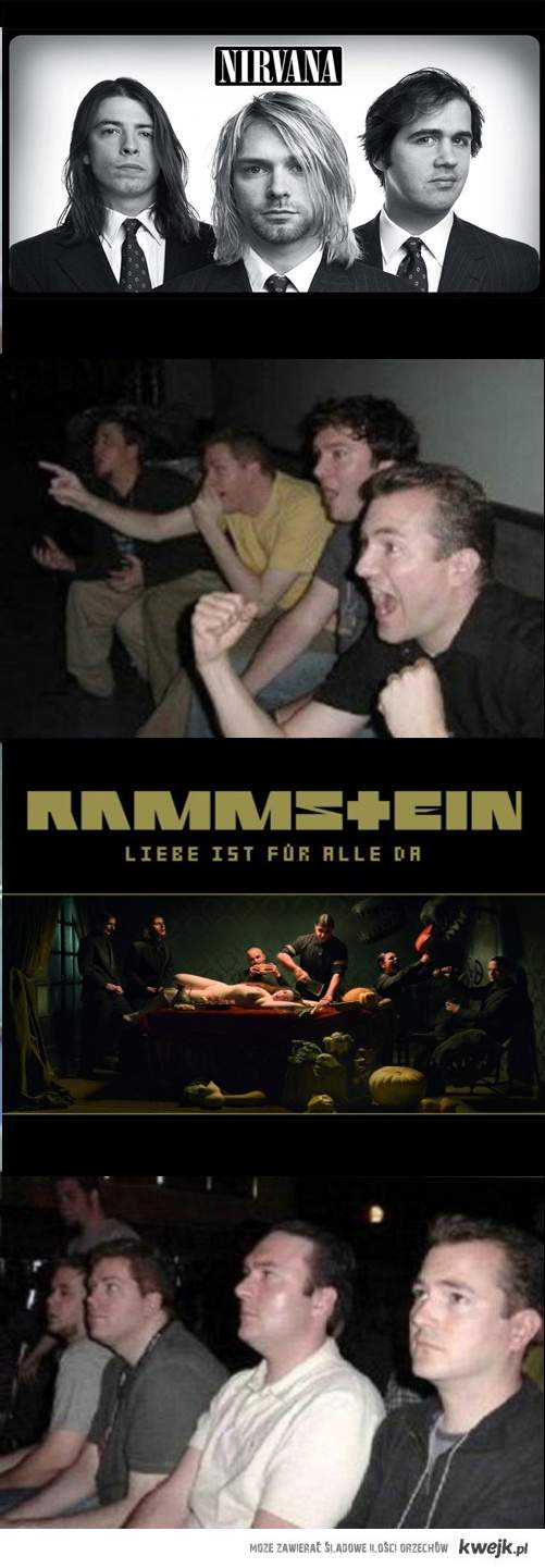 Nirvana vs Rammstein