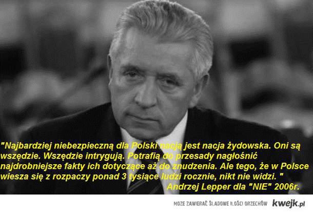 Andrzej Lepper- cytat