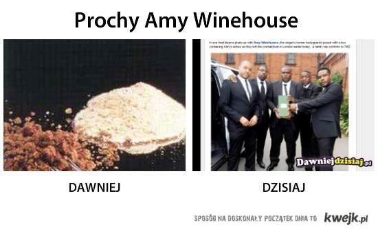 Prochy Amy Winehouse