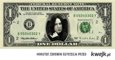Severus Snape Money