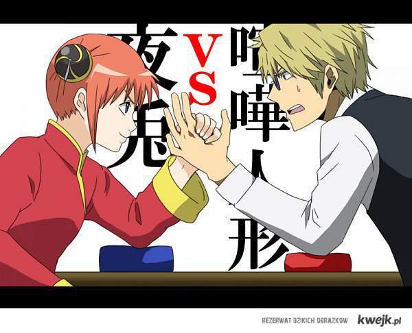 Kagura vs Shizuo