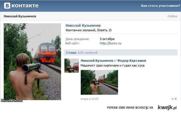 typowy profil Rosjanina