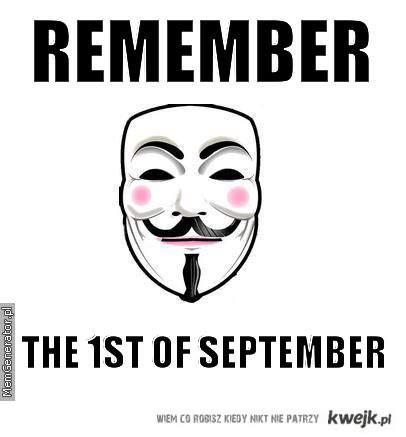 1st of September