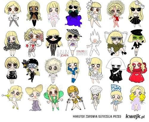 Gaga cartons