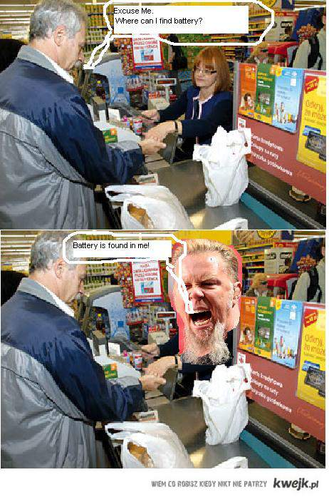 Metallica - teksty(battery)