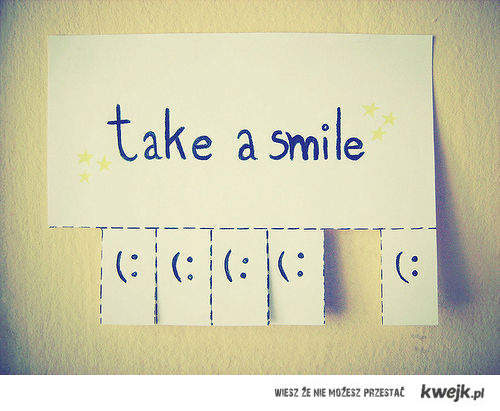 wanna smile?
