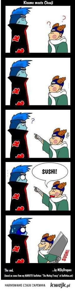 Kisame = Sushi!